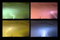 Colorful-Lightning-Thunderstorm-Collage