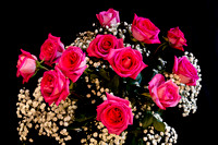 Pink Roses With All My Love