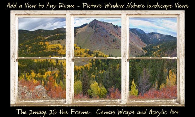 Colorful Colorado Autumn Rustic WT Window View 600ss Longs Peak White Rustic Peeling Window Frame Autumn View