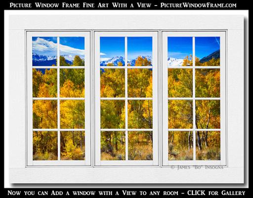 Independence Pass Autumn Colors wht barn window 600aMark2 512x400 Longs Peak White Rustic Peeling Window Frame Autumn View