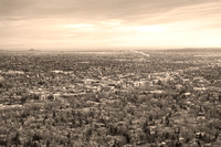 Downtown-Boulder-Colorado-Morning-Sepia-View
