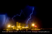 Lightning Composite Images
